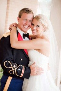 Lt. and Mrs. Winston Elliott, IV marriage