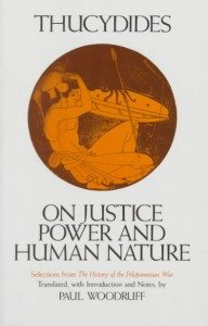 Thucydides-Justice and Power democracy