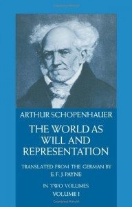 the world as will and representation