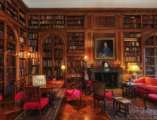 An Ode to Great Books and a Beautiful Library