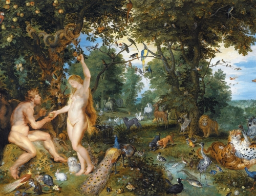 Grace in the Garden: The Fall of Man & the British Pastoral Tradition