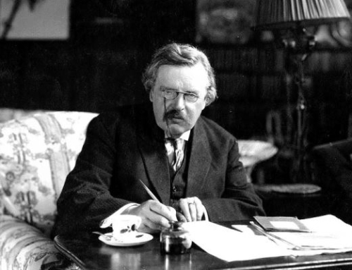 Chesterton the Crusader: Using Words as a Sword