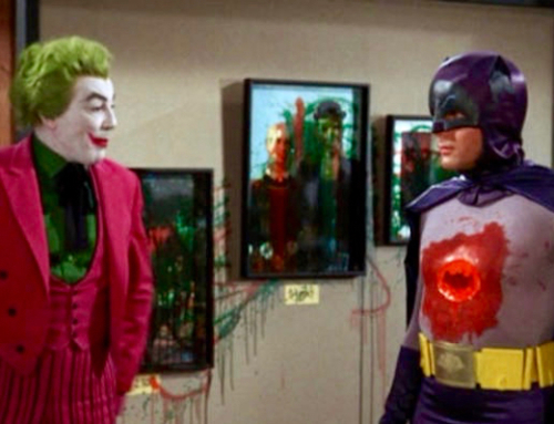Batman vs. Modern Art