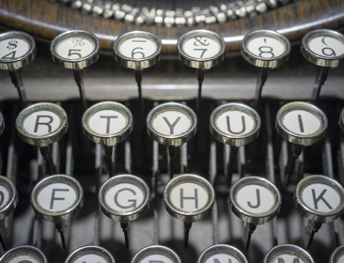Tools for Writing: The Keyboard