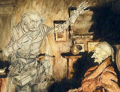 Gollum and the Spirit of Christmas