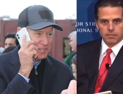 Joe Biden Phones Son Hunter, Asks for a Job