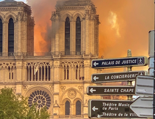 The Notre Dame Fire: A Sign of the Times
