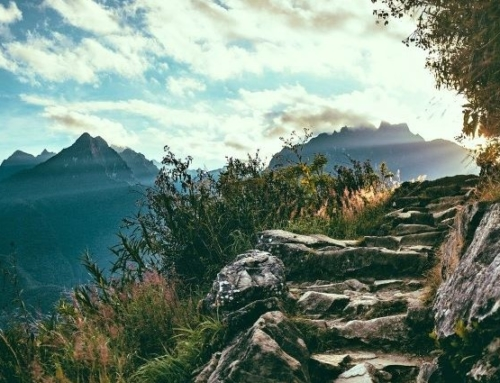 Mountains and the Living of Life