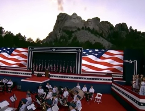 Remarks at South Dakota's Mount Rushmore Fireworks Celebration