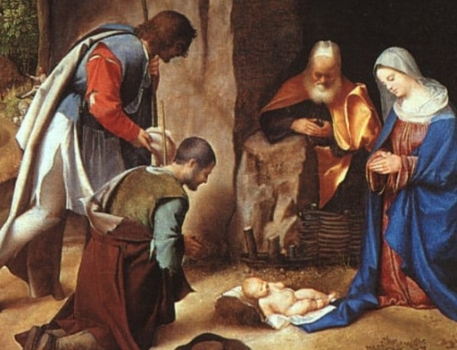 "Christmas Story in Art: Giorgione's ""Adoration of the Shepherds"""