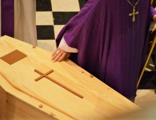 The Terrible Mercy and Love of a Child's Casket