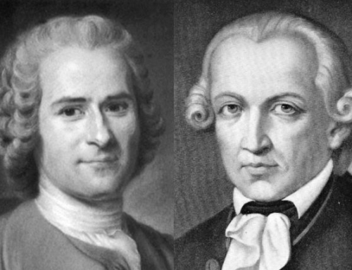 Rousseau's and Kant's Competing Interpretations of the Enlightenment
