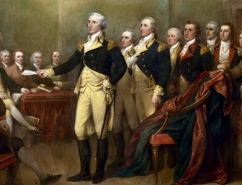 George Washington Resigns His Military Commission